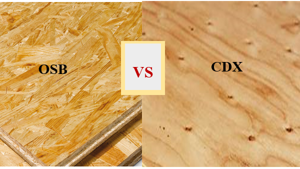 Difference between OSB and CDX