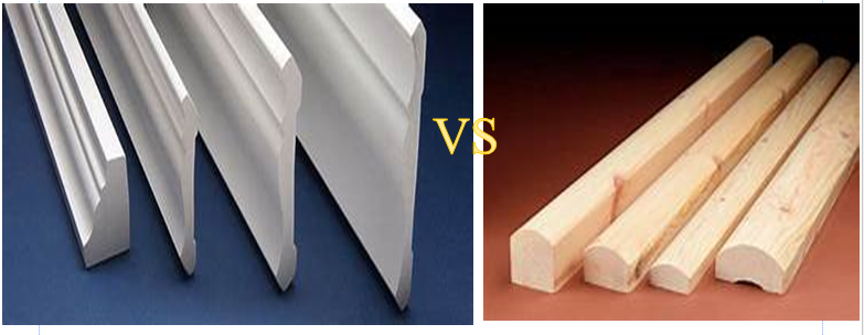 PVC trim vs wood trim