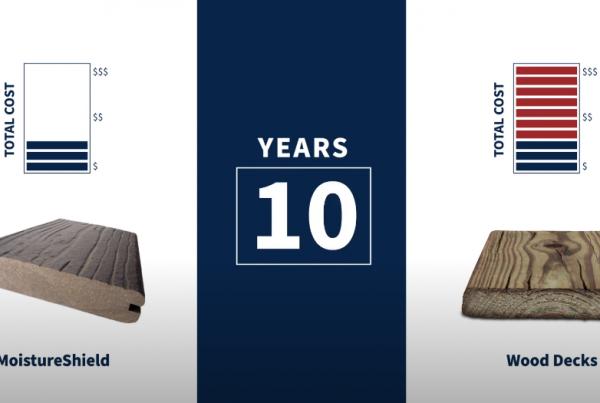 Wood vs composite decking