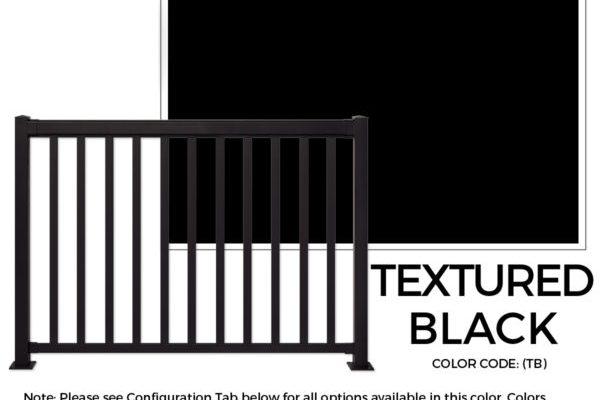 Textured Black Regal Ideas Sherwood Lumber Aluminum Railing