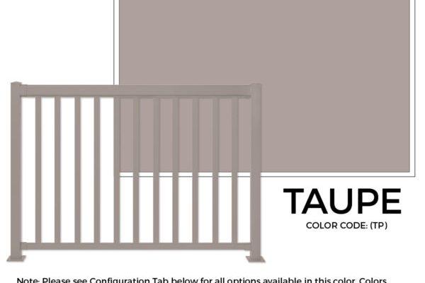 Taupe-regal-ideas Sherwood Lumber Aluminum Railing