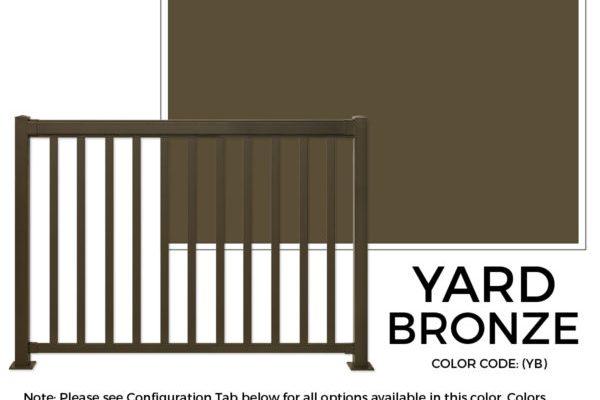 Yard Bronze Regal Ideas Sherwood Lumber Aluminum Railing