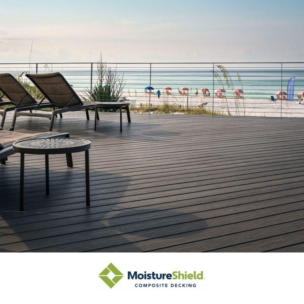 Moistureshield - Sherwood Lumber Composite Decking innovative decking products