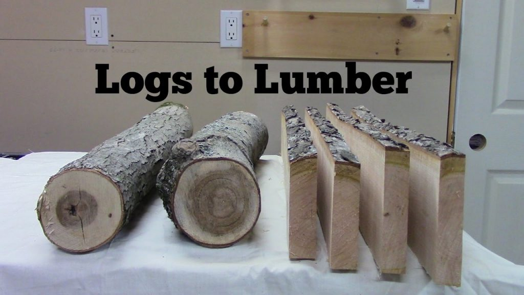 Conversion of Logs to Lumber