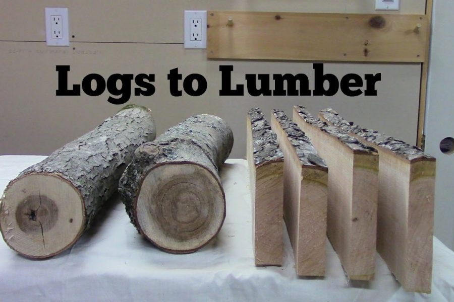Conversion of Logs to Lumber