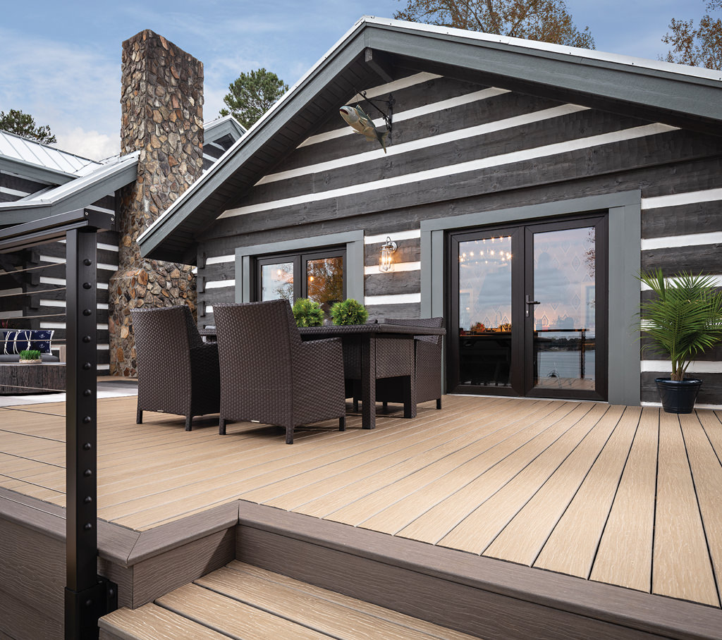 Perfect Decking and Roofing Combination