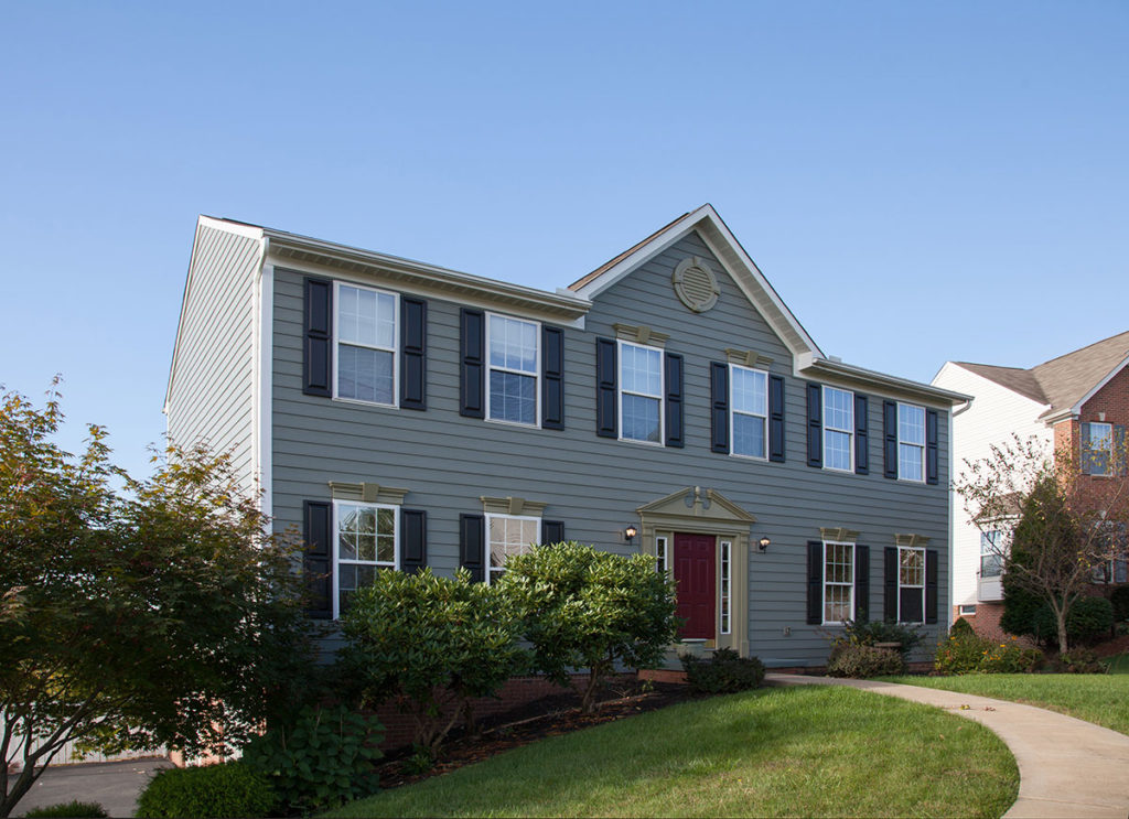 Incorporating Your Grey Composite Siding