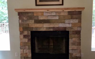 Fireplace finished